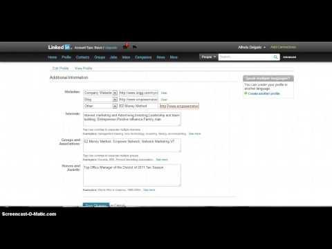 Getting a High PR Backlink From Linkedin