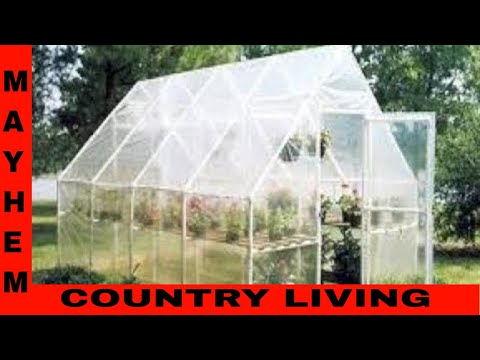 Welcome to our new greenhouse