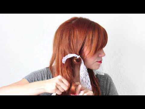 How to Rag Roll your Hair