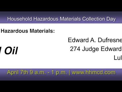 Promo: 2018 Household Hazardous Materials Collection Day