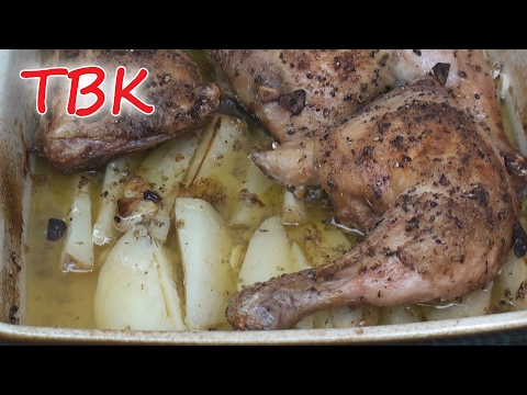 Roasted Garlic, Lemon and Oregano Chicken - Titli's Busy Kitchen