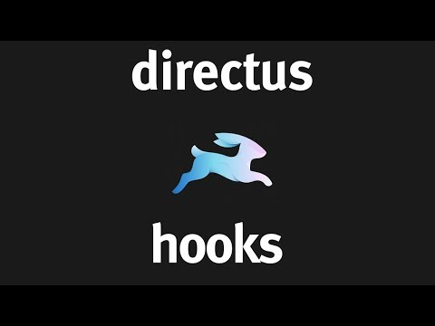 Hooks with Directus