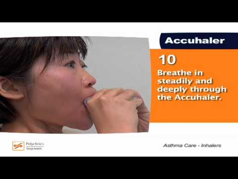 How to use an asthma inhaler - SingHealth Healthy Living Series