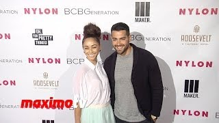 Jesse Metcalfe & Cara Santana NYLON & BCBGeneration Young Hollywood Party Red Carpet
