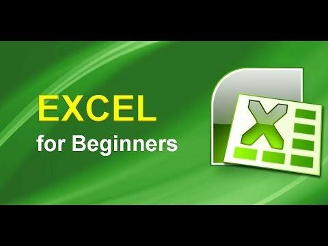 Excel for Beginners - Online tutorial
