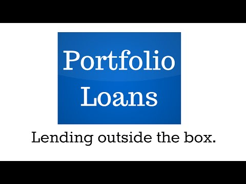 Introducing: Portfolio Loan - Like nothing you'd EVER expect!