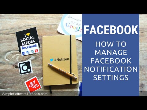 How to Manage Facebook Notification Settings