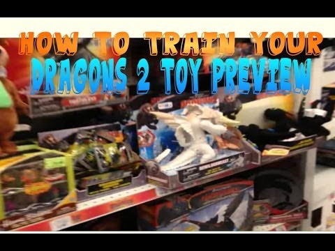 How To Train Your Dragon 2 Toys In Store Review