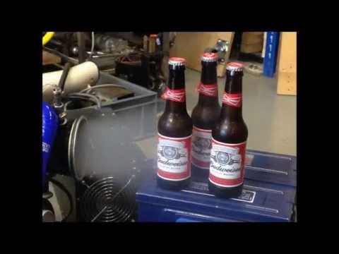 Jet Engine Powered Beer Cooler Aircraft ECS PAC Budweiser