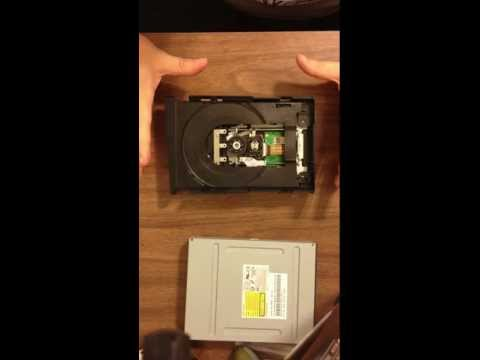 Xbox 360 Slim stuck tray fix