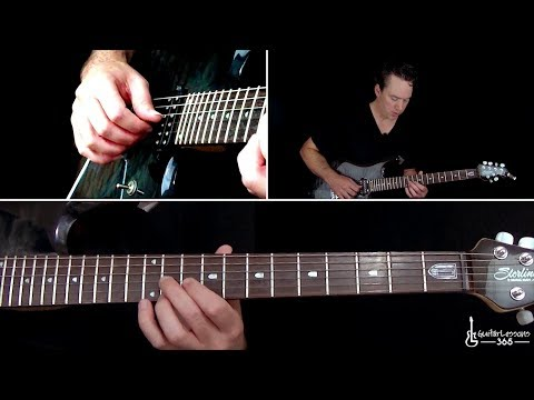 AC/DC - For Those About To Rock (We Salute You) Guitar Lesson (Rhythms)