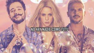Camilo, Shakira, Pedro Capó - Tutu (Remix - Letra)