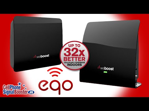 weBoost EQO Cell Phone Signal Booster for Home