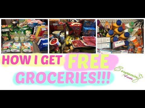 HOW I GET FREE GROCERIES!
