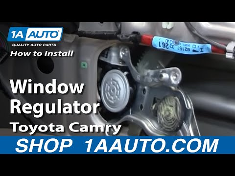 How To Install Replace Broken Window Regulator Toyota Camry 97-01 1AAuto.com