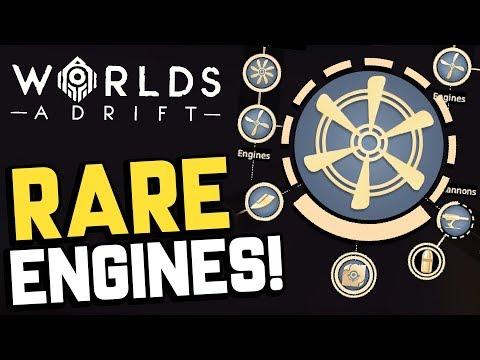 Worlds Adrift - UNLOCKING RARE ENGINE SCHEMATICS! + New Hip Lantern! - Worlds Adrift Beta Gameplay