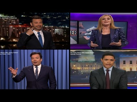 Late Night Hosts React to Donald Trump's Win