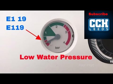 How to repair your Baxi E119 fault