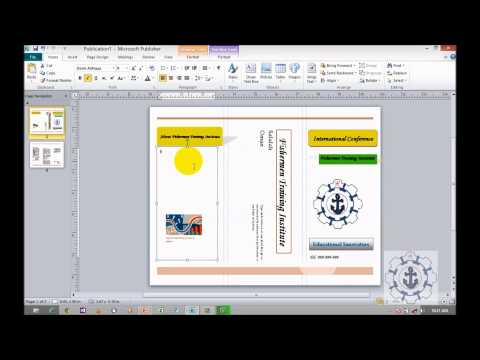 How to Create Brochures in Microsoft Publisher 2010 (Informational List)