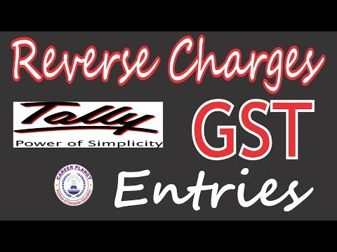 GST Entries for Reverse Charge on Purchase from Unregistered Dealer in Tally Part-4 (Hindi)