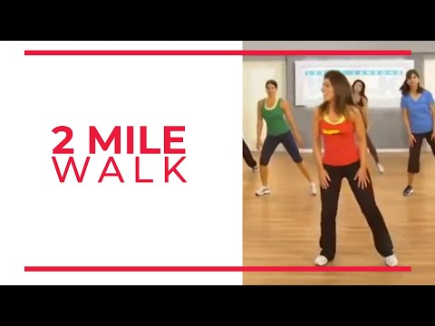 4 Mile Power Walk - 1st 2 Miles (Walk at Home Fitness Videos)