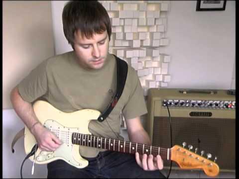 Guitar technique lesson -