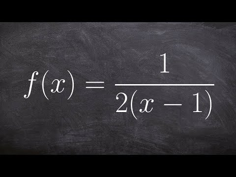 How to determine the VA of a function