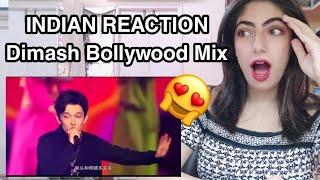 Dimash Qudaibergen Bollywood mix Live Leyla \u0026 Jamaica INDIAN REACTION 🇮🇳😱
