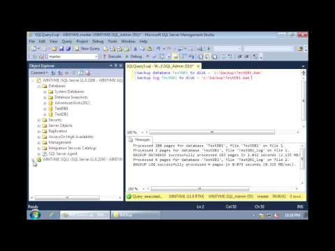 SQL Server 2012 - Log Shipping Configuration (Part 1 of 2)