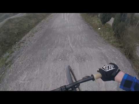 BMX Markgröningen Racetrack ||Sunset Pumptrack Ride ||Raw76 ||Blackbird76