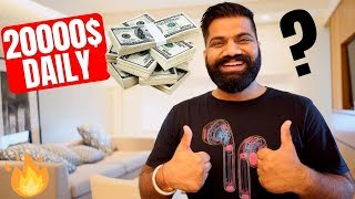 How NOT To EARN 20,000$ in 1 Day🔥🔥🔥