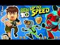 ALIENS INVADE FGTEEV BEN 10 UP TO SPEED Cartoon Network Game W Duddy Omnitrix Ben 10 Reboot