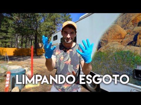 BANHEIRO DO MOTORHOME, PARA ONDE VAI A SUJEIRA?  | Travel and Share