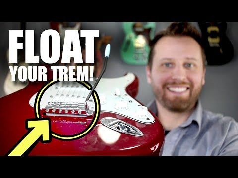 Setting Up Your Stratocaster Trem by Intervals - Try This Out!