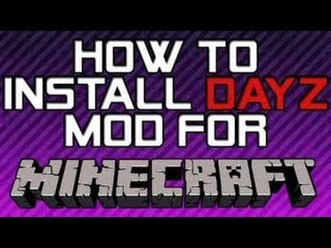 How to install DayZ [MineZ] Mod for Minecraft Multiplayer Server - 1.2.5 - ConceptJohnny