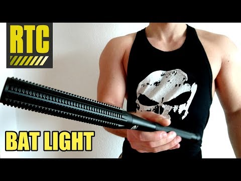 Baseball BAT Flashlight LED Torch for Self Defense and Security