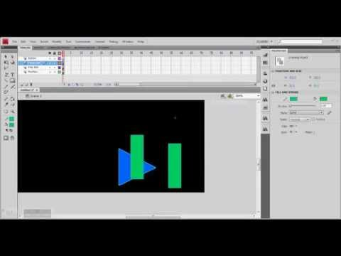 Play and Pause Buttons in Adobe Flash | ActionScript 3