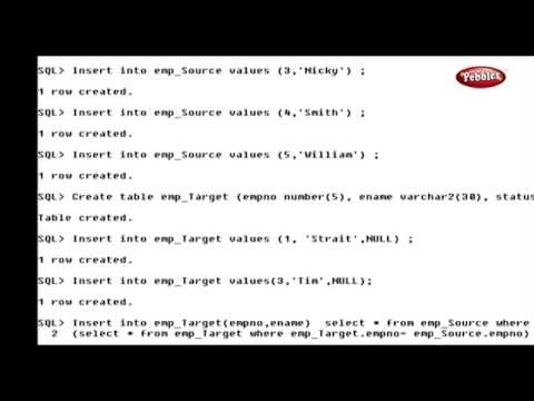 Learn Oracle | How to use the Merge Statement in SQL