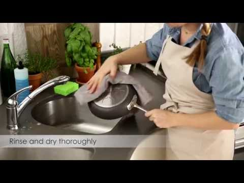 All-Clad: How to Care for Nonstick Hard Anodized Cookware
