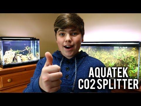 How To Split CO2 Lines (Aquatek 6-Way Splitter)