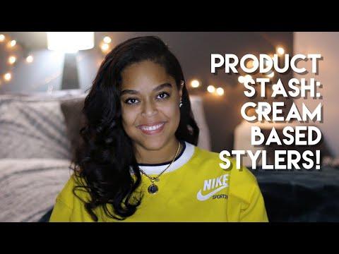 PRODUCT STASH SERIES! | CREAM STYLERS | Danielle Renée