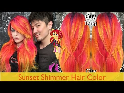 Sunset Shimmer Hair Color