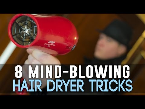 8 Mind-Blowing Ways To Use Your Hair Dryer