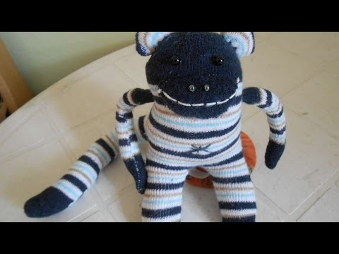 How To Make A Fun Sock Monkey Diy Crafts Tutorial Guidecentral