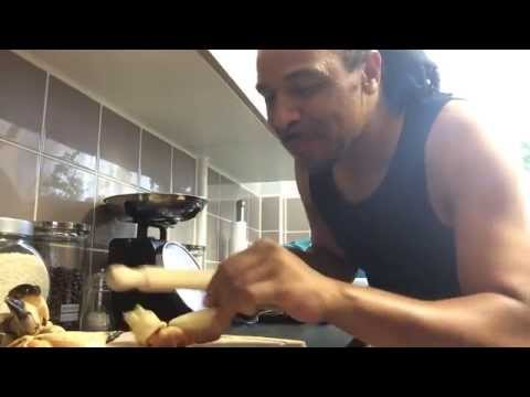 Yardski cooks Crab Claws in garlic butter