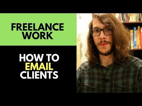 Freelance Artist Tips: How to get Freelance Work using ONLY Email