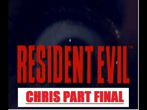 Resident Evil 1 Chris Part12 Look At That Monsterrr!!!