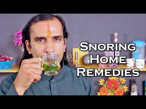 Snoring Treatment With Natural Home Remedies @ ekunji.com