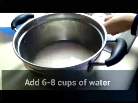 How to cook Rice\Congee