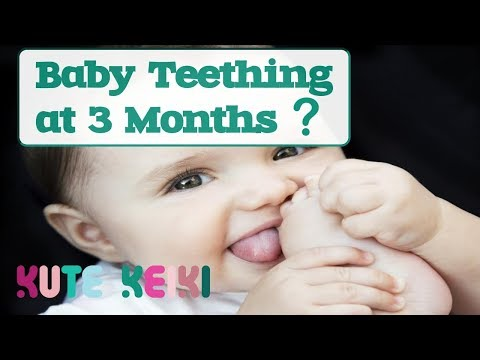 Baby Teething at 3 Months Old!? - Teething at an Early Age